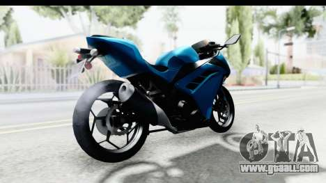 Kawasaki Ninja 300R for GTA San Andreas