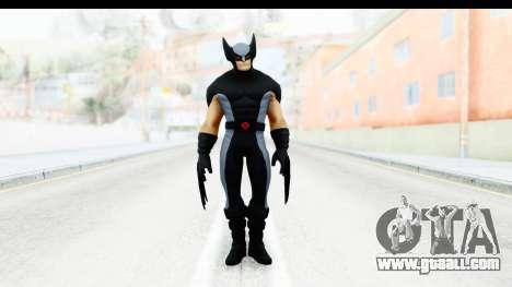 Marvel Heroes - Wolverine Xforce for GTA San Andreas second screenshot