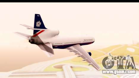 Lockheed L-1011-100 TriStar British Airways for GTA San Andreas right view