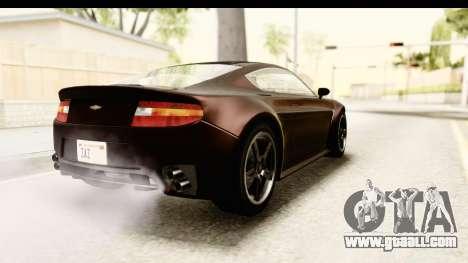 GTA 5 Dewbauchee Rapid GT SA Style for GTA San Andreas left view