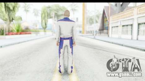 GTA 5 DLC Cunning Stuns Male Skin for GTA San Andreas third screenshot