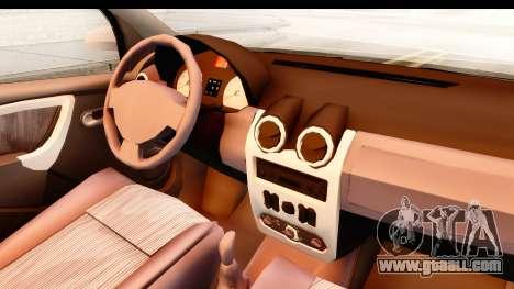 Dacia Logan Facelift Ambulanta v2 for GTA San Andreas inner view