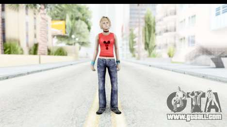 Silent Hill 3 - Heather Sporty Red Mickey Mask for GTA San Andreas second screenshot