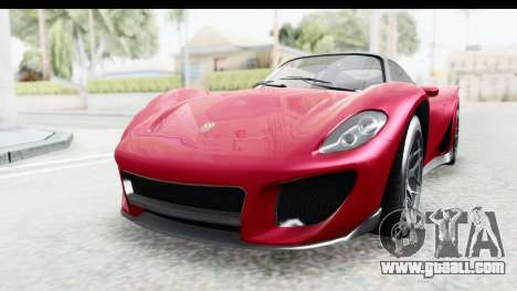 GTA 5 Pfister 811 with Mip Map for GTA San Andreas