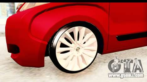 Fiat Fiorino v2 for GTA San Andreas back view