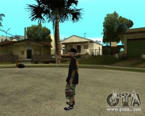 New Armenian Skin for GTA San Andreas tenth screenshot
