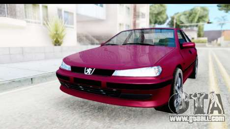Peugeot 406 Light Tuning for GTA San Andreas back view