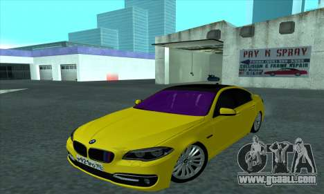 BMW 525 Gold for GTA San Andreas