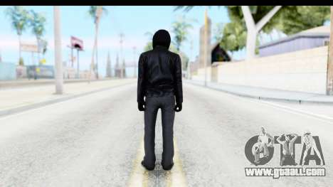 GTA 5 Heists DLC Male Skin 2 for GTA San Andreas third screenshot