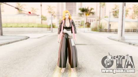Bleach - Rangiku for GTA San Andreas second screenshot