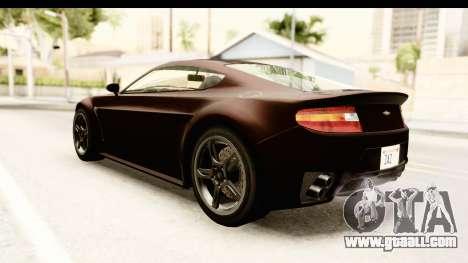 GTA 5 Dewbauchee Rapid GT SA Style for GTA San Andreas back left view