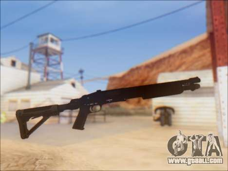 GTA V Shrewsbury Pump Shotgun for GTA San Andreas