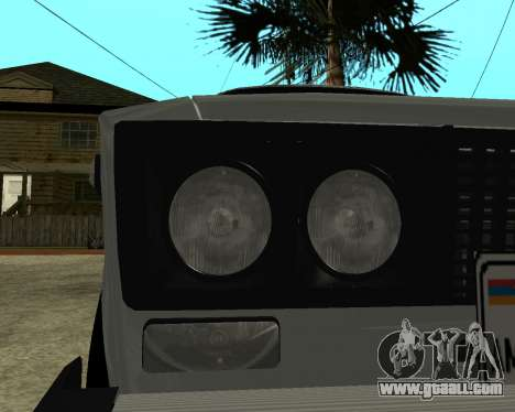 VAZ 2106 Armenian for GTA San Andreas wheels