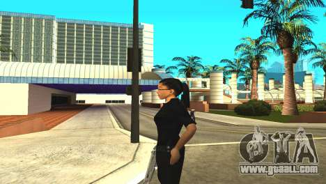 Skin of a female officer for GTA San Andreas forth screenshot