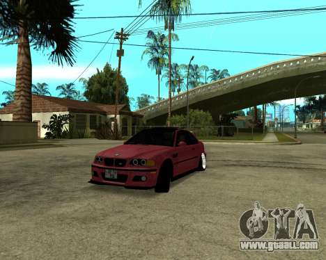 BMW M3 Armenian for GTA San Andreas left view