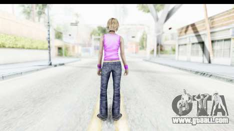 Silent Hill 3 - Heather Sporty Neon Pink for GTA San Andreas third screenshot