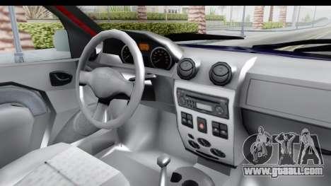 Dacia Logan MCV for GTA San Andreas inner view