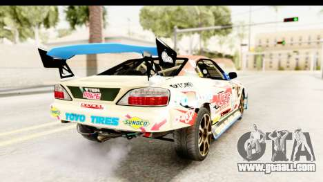 D1GP Nissan Silvia RC926 Toyo Tires for GTA San Andreas left view
