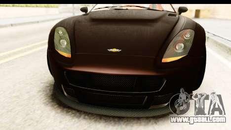 GTA 5 Dewbauchee Rapid GT SA Style for GTA San Andreas inner view