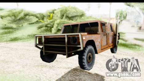 Rusted Patriot for GTA San Andreas right view