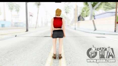 Lola Del Rio for GTA San Andreas third screenshot
