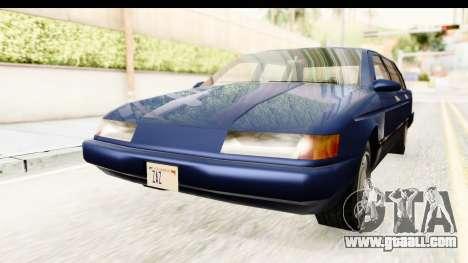 Solair Sedan for GTA San Andreas right view