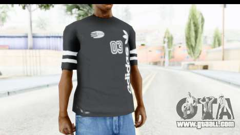 Adidas 03 T-Shirt for GTA San Andreas second screenshot