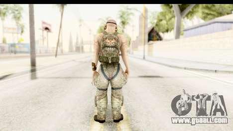CrimeCraft Male Rogue for GTA San Andreas third screenshot