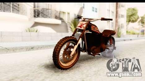 GTA 5 Western Cliffhanger Custom v1 for GTA San Andreas