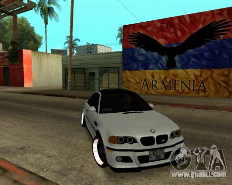 BMW M3 Armenian for GTA San Andreas