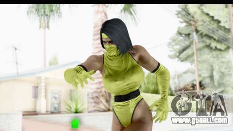 Tanya MK2 for GTA San Andreas