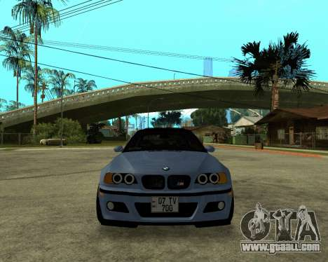 BMW M3 Armenian for GTA San Andreas right view