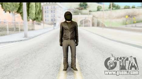 GTA 5 Heists DLC Male Skin 2 for GTA San Andreas second screenshot