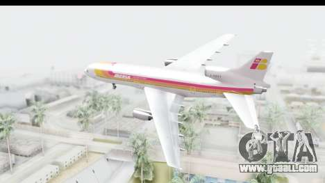 Lockheed L-1011-100 TriStar Iberia for GTA San Andreas right view