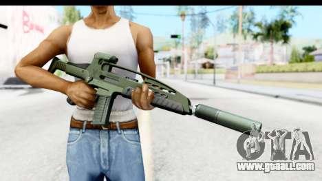 H&K XM8 Silenced for GTA San Andreas third screenshot