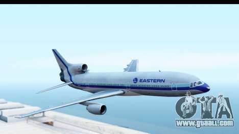 Lockheed L-1011-100 TriStar Eastern Airlines for GTA San Andreas back left view