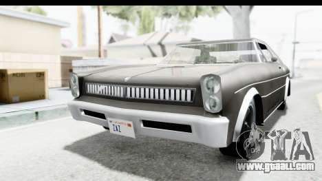 Imponte Tempest 1966 for GTA San Andreas right view