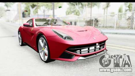 Ferrari F12 Berlinetta 2014 for GTA San Andreas