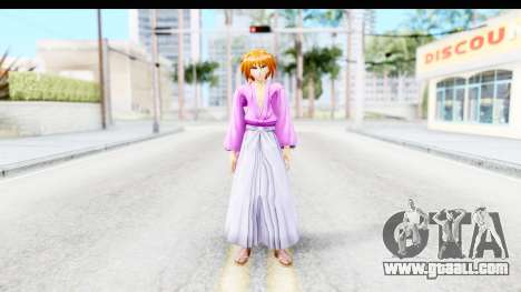 Kenshin v1 for GTA San Andreas second screenshot