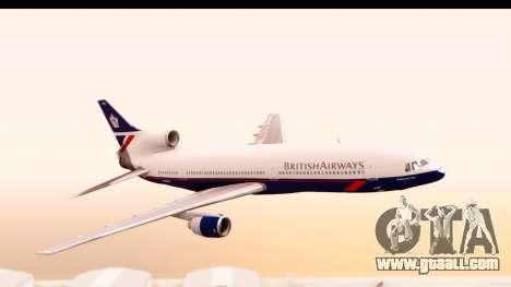 Lockheed L-1011-100 TriStar British Airways for GTA San Andreas