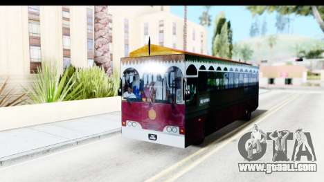 Cas Ligas Terengganu City Bus Updated for GTA San Andreas