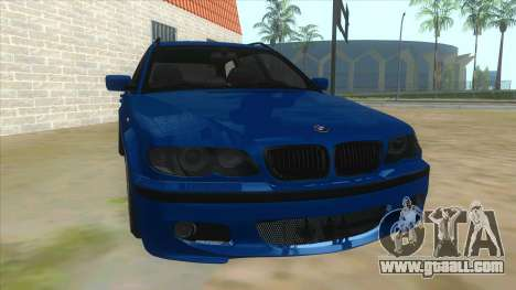 BMW E46 Touring Facelift for GTA San Andreas back view