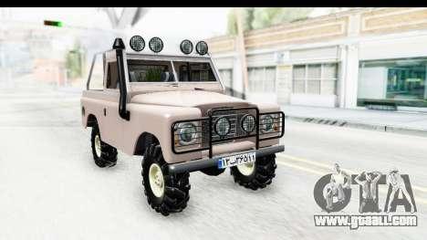 Land Rover Pickup Series3 for GTA San Andreas