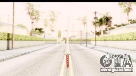 Bleach - Rukia Weapon for GTA San Andreas second screenshot