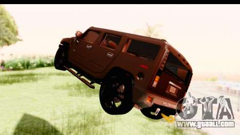 Hummer H2 for GTA San Andreas right view