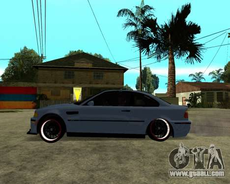 BMW M3 Armenian for GTA San Andreas back view