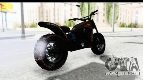 GTA 5 Western Gargoyle Custom v1 for GTA San Andreas left view