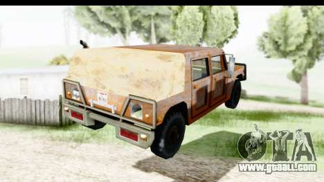 Rusted Patriot for GTA San Andreas left view
