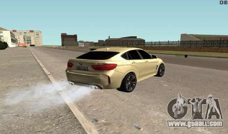 BMW X6M Bulkin for GTA San Andreas back left view
