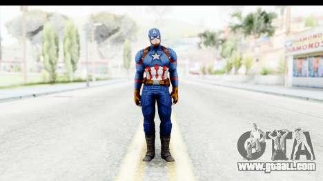 Marvel Heroes - Capitan America CW for GTA San Andreas second screenshot